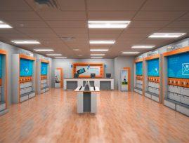 AT&T butikskoncept - USA