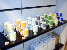 Raun concept store - Præstegaard væg med hylder for home accessories