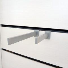 Produktknægt type nr 1013/G/25-N og 1013/G/35-N i længder af 25 og 35cm. Højde 7cm