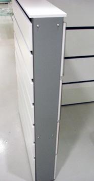 Gavl plade type 1022 findes i 8 højder