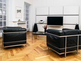 Løsning på en multimedie væg i et privat hjem