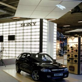 Udstilling for Sony - Danmark