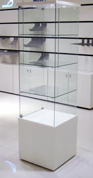 Fritstående glas unit 1124F/184