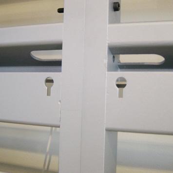 Nøglehul i væg unit for væg plader